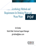 LC Water Microbiology Methods for DW and WW[1]