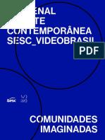 21 Bienal Arte contemporânea SESC videobrasil catálogo
