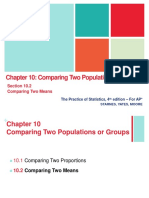Chapter 10 Comparing Two Populations or Groups-10.2