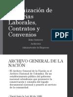 Organización de Historias Laborales y Contratos