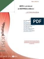 BEPS y reglas REFIPRES IMCP