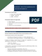 Formation en rédaction administrative