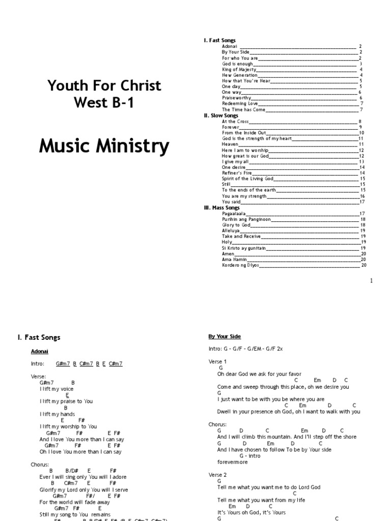 Chords Sheet Song Structure Glory Religion