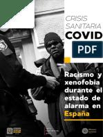 Racimos y Xenofobia España COVI 19