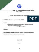 SERVICIO NACIONAL DE ADIESTRAMIENTO EN TRABAJO INDUSTRIAL