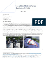 Bureau of Prisons Letter - June 15 2020