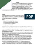 2018.TALLER DE RECUPERACION.PEDAGOGIA