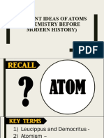 Atomos, Aristotle and Alchemy