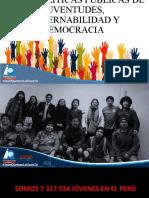 EJE DE POLÍTICAS PUBLICAS DE JUVENTUDES, GOBERNABILIDAD Y DEMOCRACIA