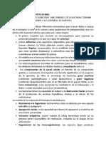 parámetros de patogenicidad y mecanismos de evasión bacteriana