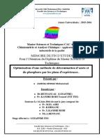 Optimisation d'une methode de  - LAKEHAL-SENHAJI Mohammed_3371.pdf