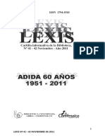LEXIS ADIDA
