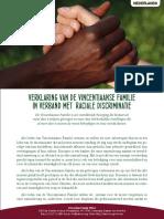 [Nederlands] Verklaring van de Vincentiaanse Familie in verband met raciale discriminatie