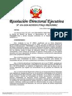 202005 - RDE 054-2020 - Nuevo cronograma y otros - Beca Hijos de Docentes