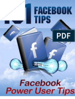 101 Face Book Tips