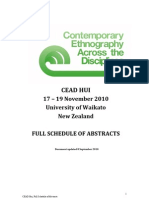 CEAD - Full Abstract