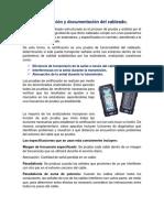 Certificación y documentación del cableado