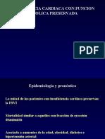 Insuficiencia cardíaca con función sistólica preservada.ppt