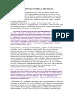 EDUCAÇÃO NO PERÍODO MILITAR E A CENSURA