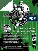 Sasquatch Summit Flyer v1 Jan2011