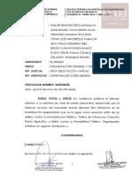 Res. N° 22 cese de prisión preventiva Walter Ríos
