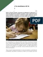 Enfoques de la enseñanza de la Matemática