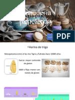 Terminología en panadería pastelería y repostería