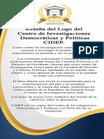 Reseña del Logo del Centro de Investigaciones Democráticas y Políticas CIDEP.