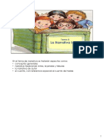 Tema 3 Narrativa Infantil 2020 notas