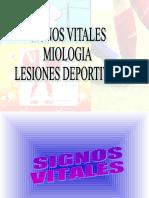SIGNOS VITALES, MILOGIA Y LD