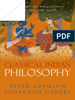(a History of Philosophy Without Any Gaps 5) Peter Adamson _ Jonardon Ganeri - Classical Indian Philosophy-Oxford University Press (2020)