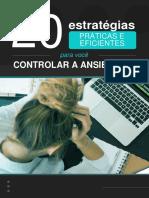 eBook Gratis 20 Dicas Praticas Para Voce Controlar a Ansiedade JP PB