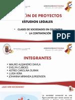 CLASES DE SOCIEDAD Y CONTRATACION