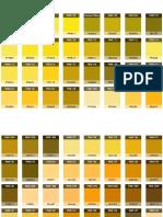 Pantone - conversión a RGB