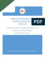 ''Terapia Nutricional en el paciente COVID19
