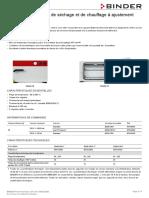 Data Sheet Model E 028 fr
