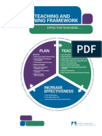 DCPS Teaching and Learning Framework 2010 2011