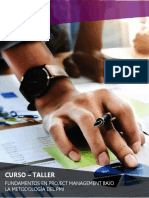 Brochure - Curso Project Management