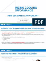 New Seawater Antiscalant To Save Energy And Water Consumptions