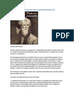 El testimonio de Flavio Josefo sobre Jesús