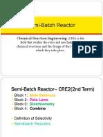 Semi-Batch Reactor