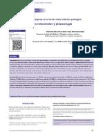 AnnMaxillo-Consecuencias posquirúrgicas en el tercer molar inferior quirúrgico extracción con micromotor y piezocirugía