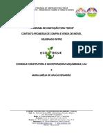 CONTRATO PROMESSA DE COMPRA E VENDE DE IMÓVEL MARIA AMÉLIA BRANDÃO (Salvo Automaticamente)