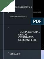 1. TEORIA GENERAL DE LOS CONTRATOS MERCANTILES