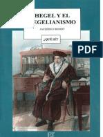 Jacques D'Hondt - Hegel y el hegelianismo-Publicaciones Cruz (1992)