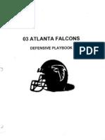 2003 Atlanta Falcons Defense - 260 Pages