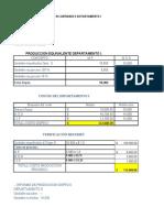 Solución taller Costos por Procesos - 31 mayo 2020