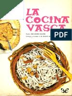 La Cocina Vasca - Ana Maria Calera