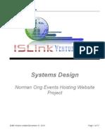ISLink Ventures Inc - System Design