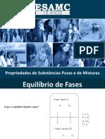 Aula - PROPRIEDADES DE SUBSTÂNCIAS PURAS E DE MISTURAS (1)
